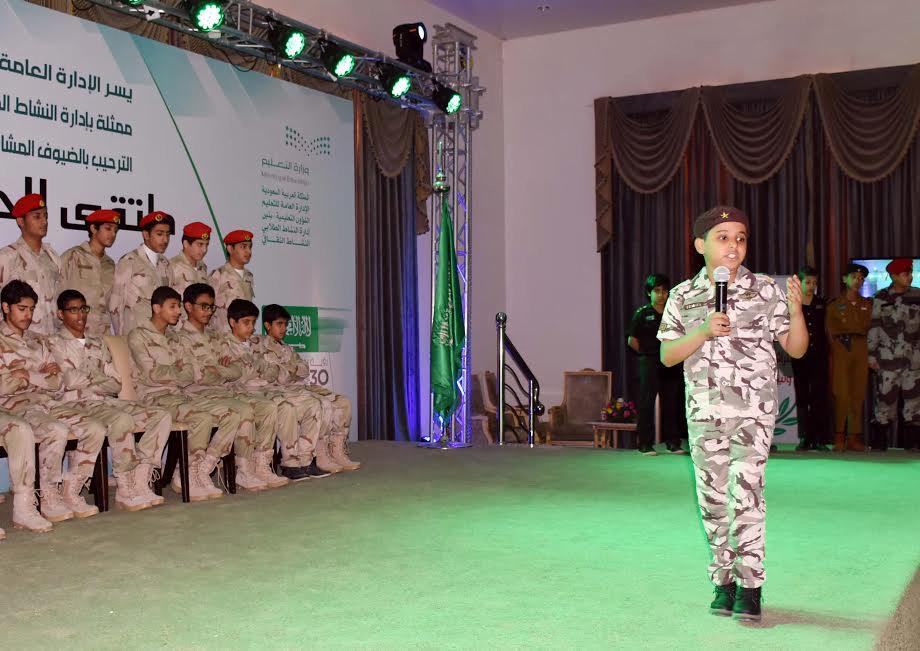 الطالب عبدالعزيز العنزي: الشعر بداية تميزي في الإلقاء