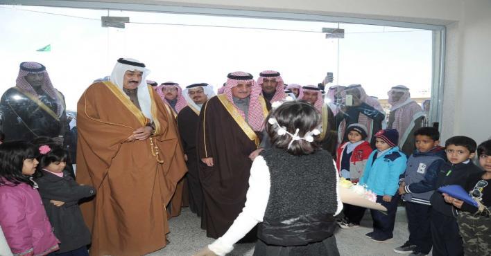 أمير تبوك يدشن مشروعات تنموية في محافظة تيماء