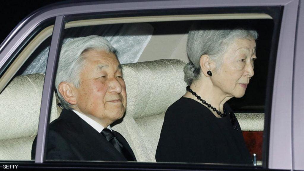 إمبراطور اليابان يتخلى عن عرشه بعد عامين