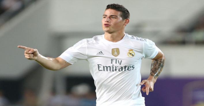 رودريجيز قد لا يشارك مع ريال مدريد أمام اشبيلية