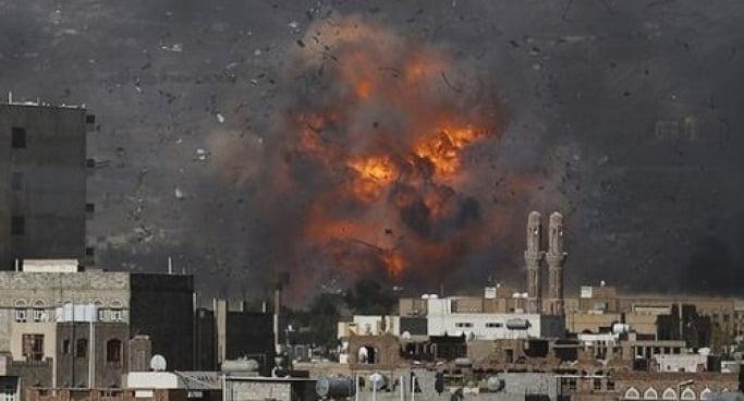 غارات جوية للتحالف توقع قتلى بصفوف الحوثيين في نهم
