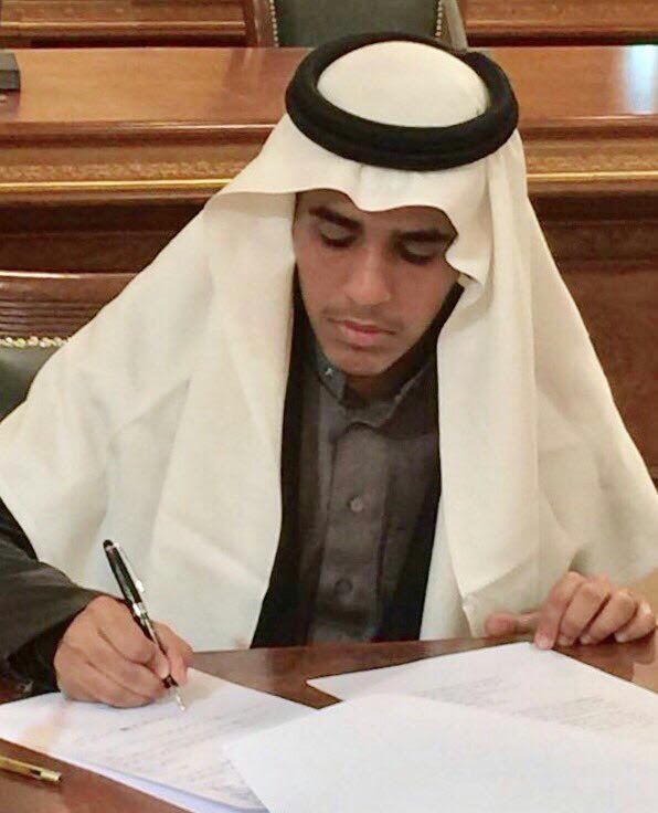 الطالب القحطاني من تعليم تبوك الأول في أولمبياد اللغة العربية