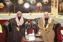 معالي الشيخ بن منيع يلتقي بمنسوبي تعليم حفر الباطن