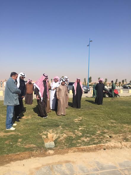 انطلاق مهرجان الربيع والتراث بحفر الباطن 30 /4
