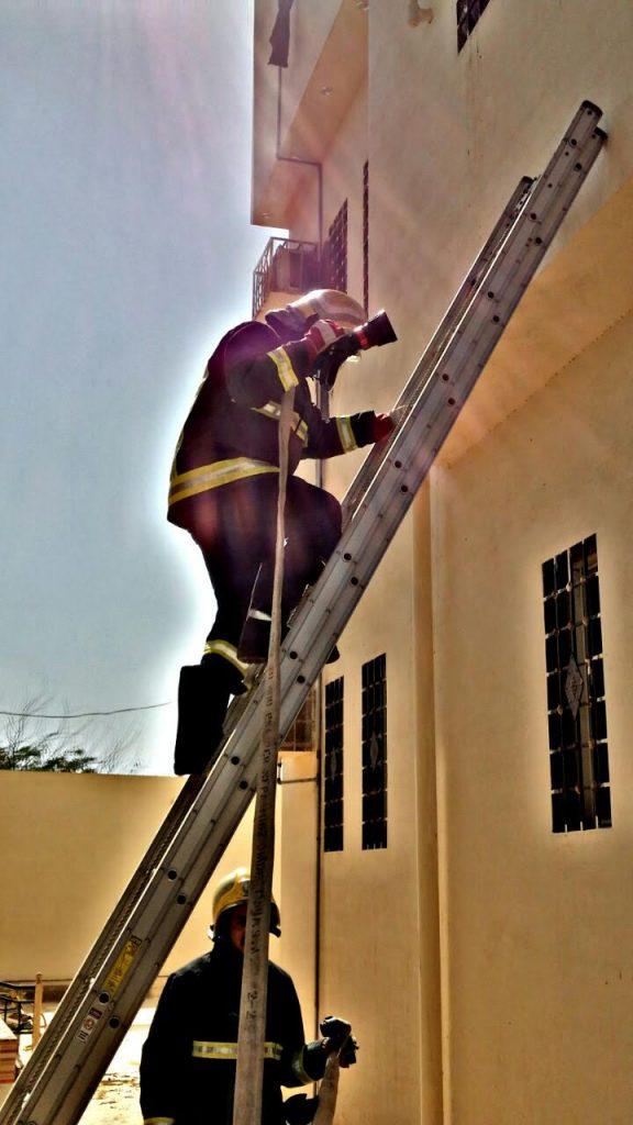 حريق بمنزل في ضمد ولا إصابات بالحادث