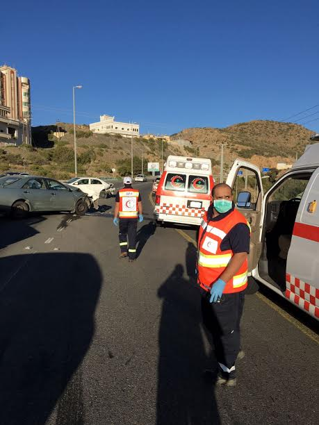 وفاة شخصين وإصابة ٨١ آخرين إثر حوادث مرورية في الباحة خلال عشرة أيام