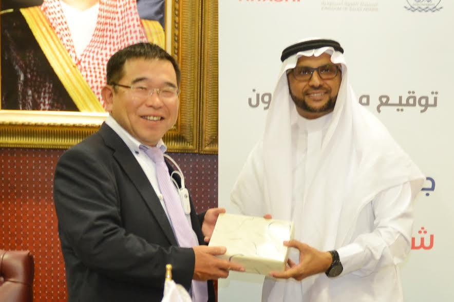 جامعة جازان توقع اتفاقية تعاون مع شركة هيتاشي