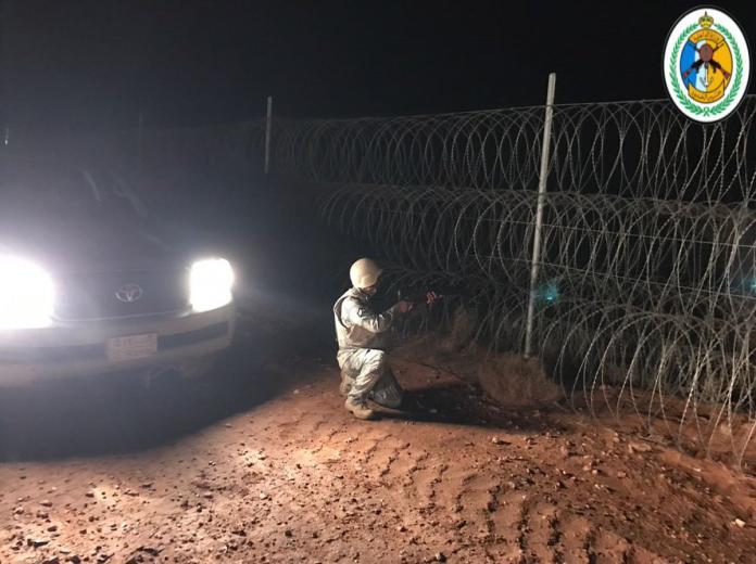 حرس الحدود يحبط تهريب أكثر من 55 ألف قرص إمفيتامين بالحدود الشمالية