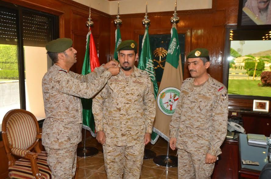 الخراص … إلى رتبة ملازم في القوات المسلحة