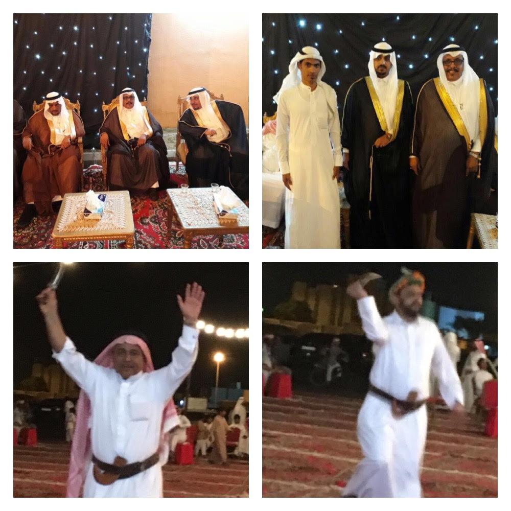 """""""المعشي"""" يحتفل بزواج سلطان في أبي عريش"""