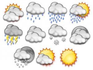 أمطار متفرقة على معظم مناطق المملكة