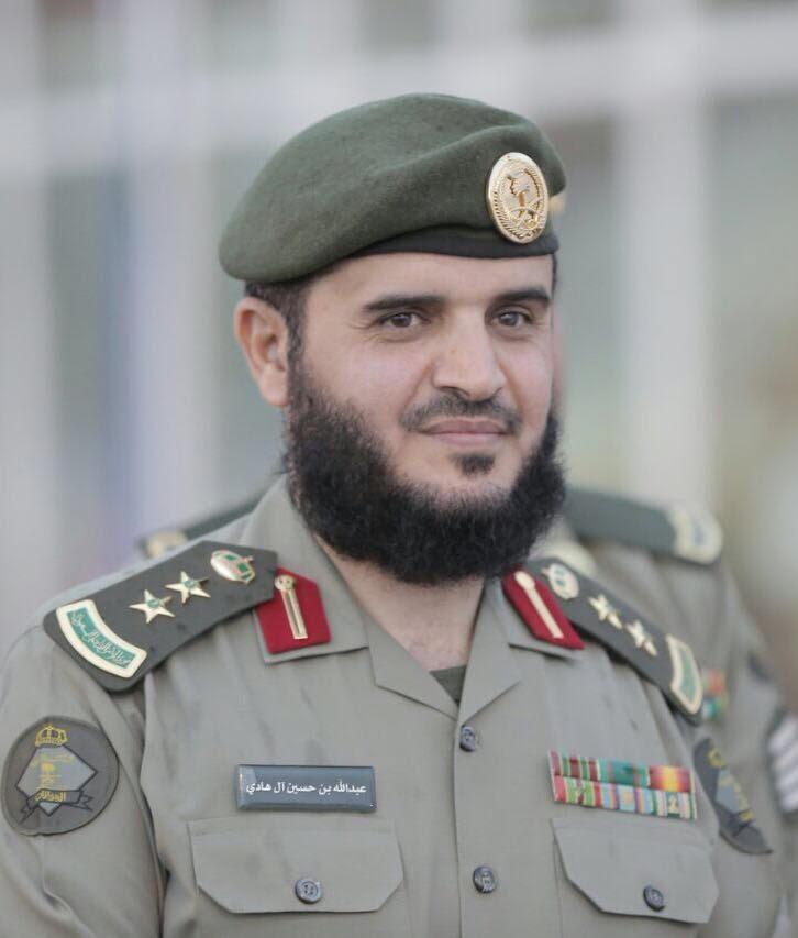 العقيد عبدالله بن حسين آل هادي يرزق بمولود