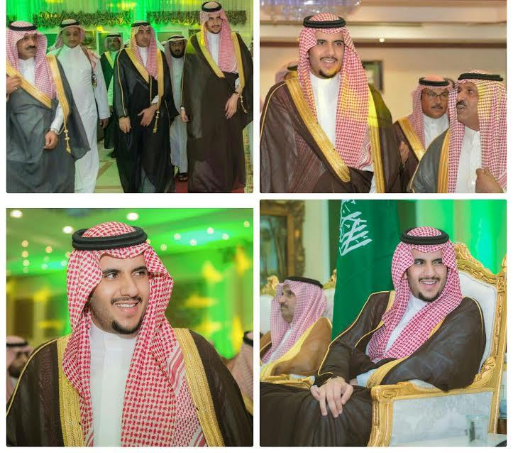 الأمير فهدبن عبدالرحمن يشرف حفل تخرج الملازم محمد بن خالد الشلوي