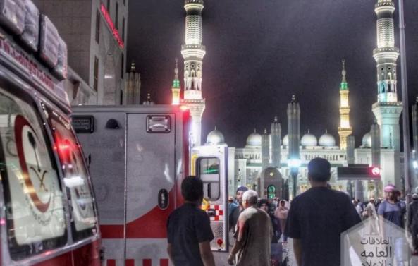 هلال المدينة يسعف 4580 حالة.. ويكثف جهوده خلال العشر الأواخر