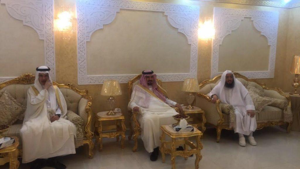 أمير الجوف يزور رؤساء المحاكم ويبادلهم التهنئة بعيد الفطر