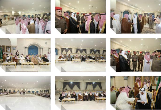نائب أمير الجوف التقى بالمسؤلين والمواطنين واستمع لمطالبهم