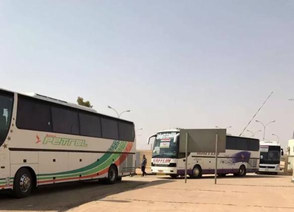 منفذ جديدة عرعر ينهي إجراءات 83 حاجاً عراقياً
