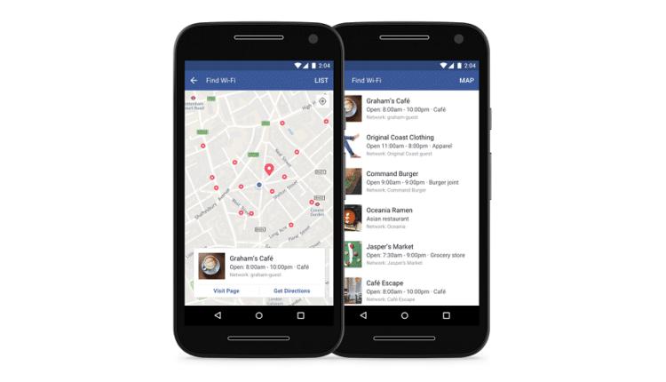 """فيس بوك تتيح ميزة """"البحث عن واي فاي"""" لجميع مستخدميها حول العالم"""