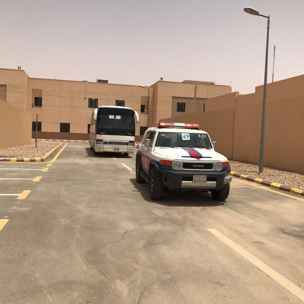 المديرية العامة للسجون الجوف تضبط المخالفين وتوقفهم