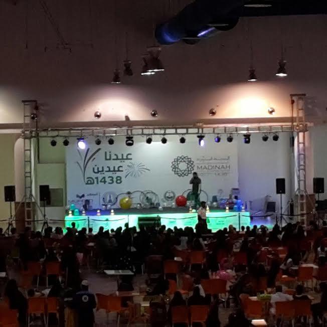 اختتام فعاليات عيدنا عيدين بالمدينة المنورة وسط حضور جماهيري كبير