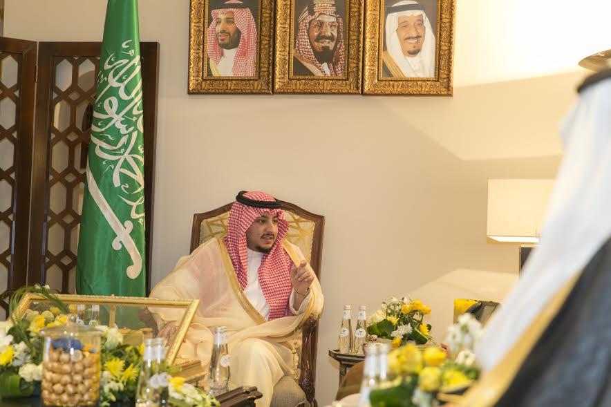نائب أمير الجوف يطلق ملتقى شهري لرجال الأعمال داخل وخارج الجوف