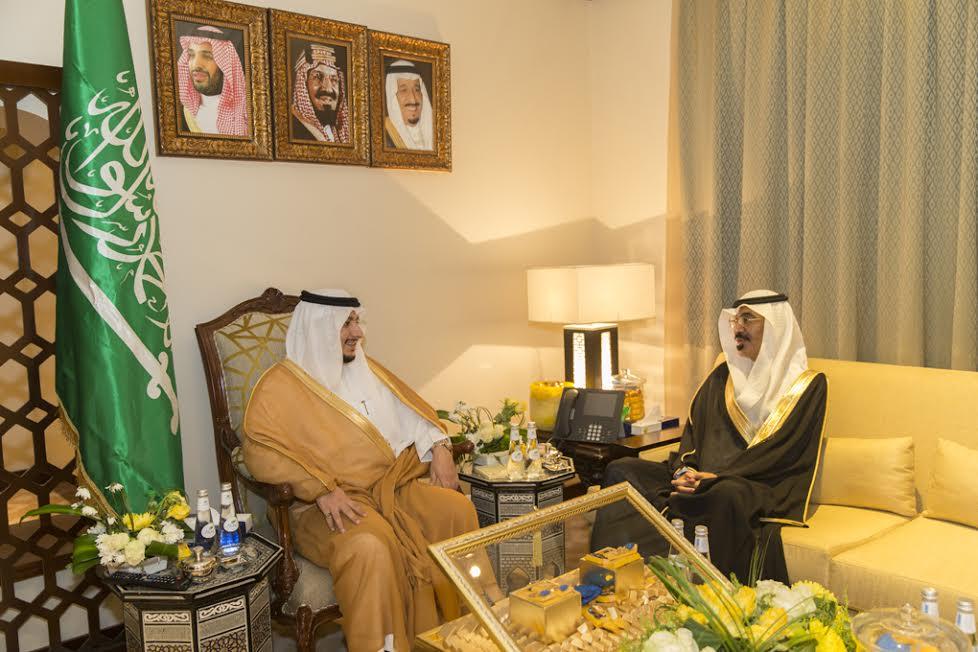 نائب أمير الجوف التقى مدير التلفزيون وأكد استغلال الإمكانيات وتفعيل دور المحافظات