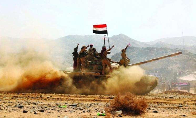 الجيش اليمني يحقق تقدما في جبهة ميدي ويفشل هجمات للإنقلابيين في الجوف