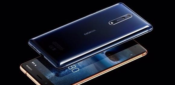نوكيا تكشف النقاب عن هاتف أندرويد الرائد «Nokia 8»