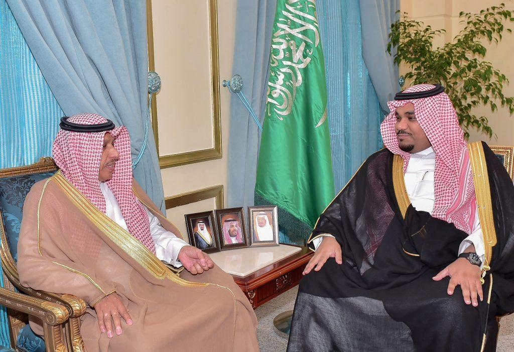 نائب أمير نجران يلتقي مدير فرع هيئة الرقابة والتحقيق بالمنطقة