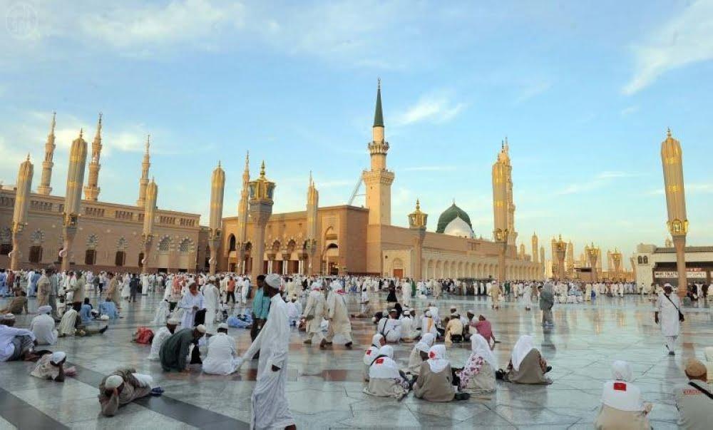 أكثر من 190 ألف إجمالي ضيوف الرحمن القادمين إلى المدينة المنورة