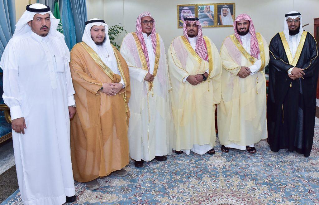 نائب أمير نجران يلتقي بمدير فرع هيئة الأمر بالمعروف والنهي عن المنكر بالمنطقة