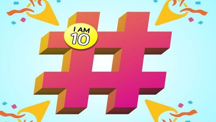 """تويتر تحتفل بالذكرى العاشرة لإطلاق أول """"هاشتاق"""" على منصتها"""