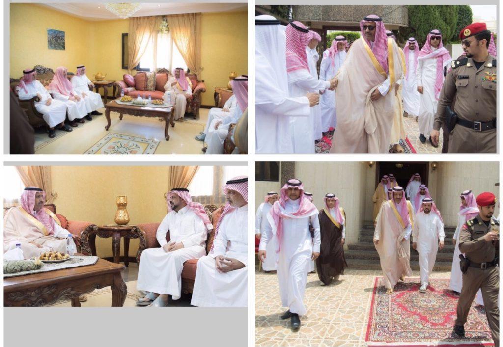 أمير الباحة يعزي أسرة الفقيد سفر الغامدي
