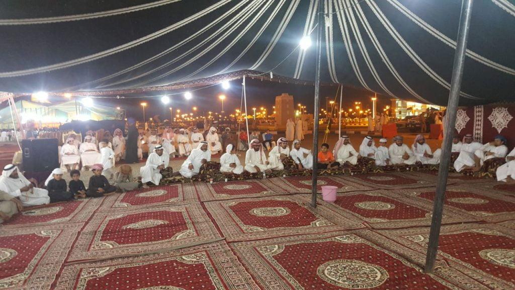 أمسية شعرية بمهرجان بدر الجنوب السياحي بنجران