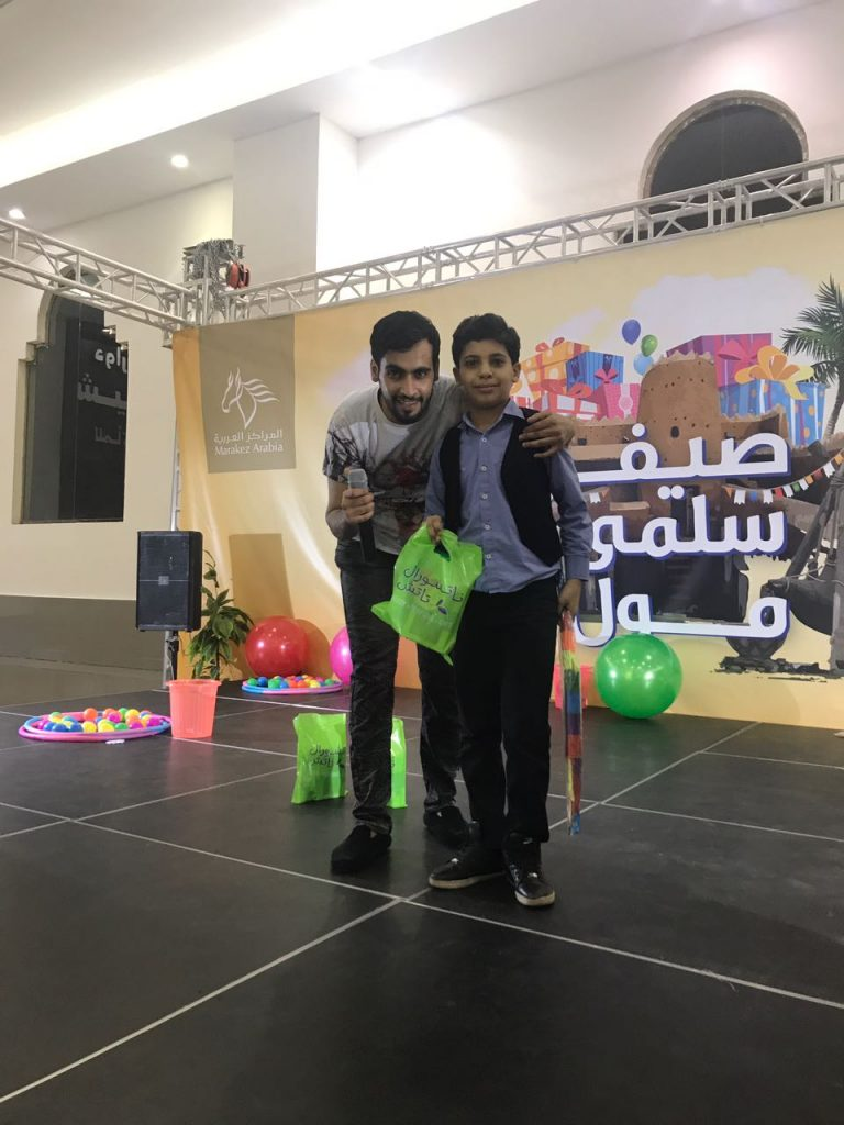 ابناء وبنات رفاق بمهرجان سلمى مول