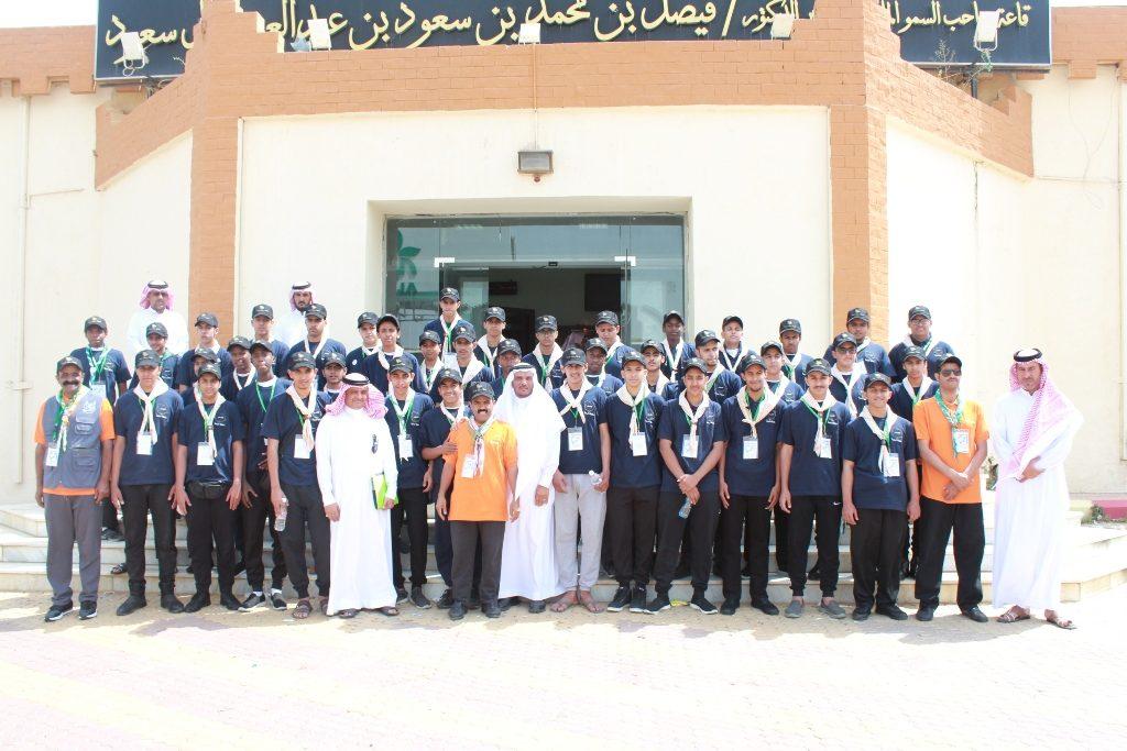 (48) كشافا وقائدا في خدمة ضيوف الرحمن من تعليم الباحة
