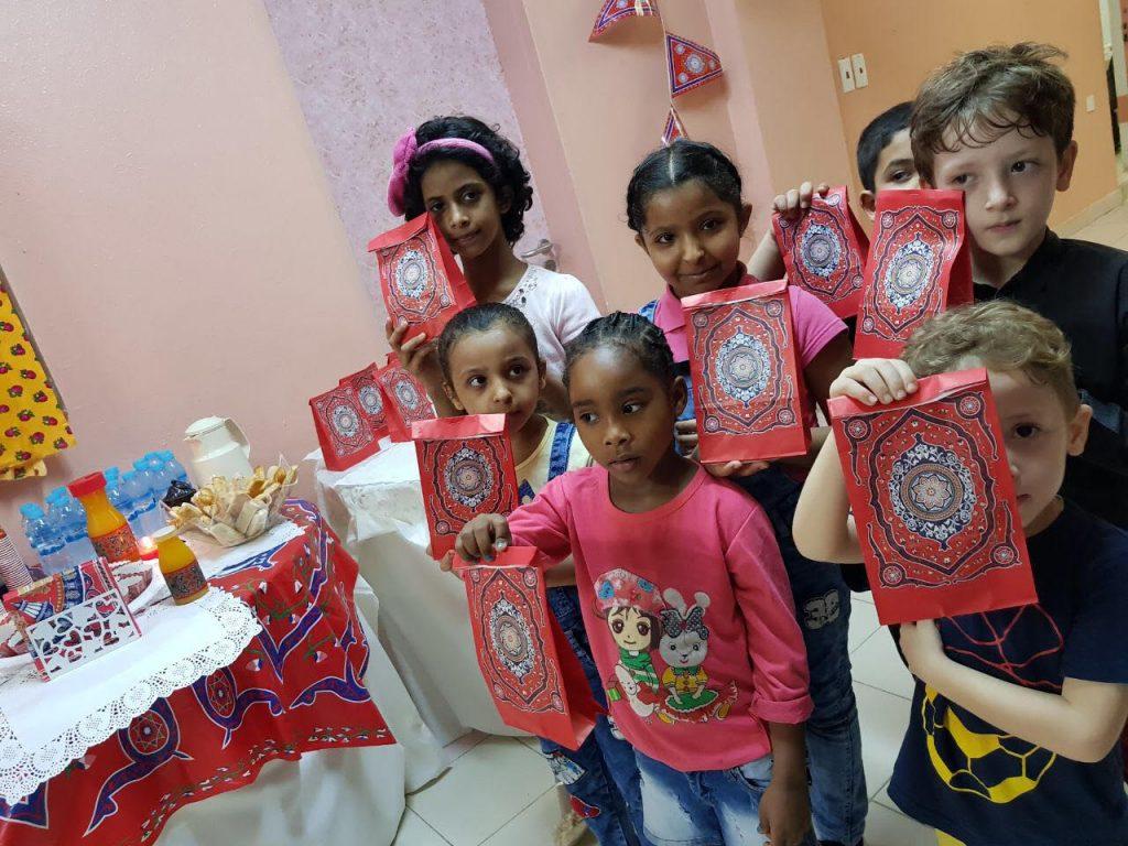 إختتام فعاليات وبرامج وأنشطة المسار الترفيهي لواحة الطفل ضمن برنامج إجازتي٢