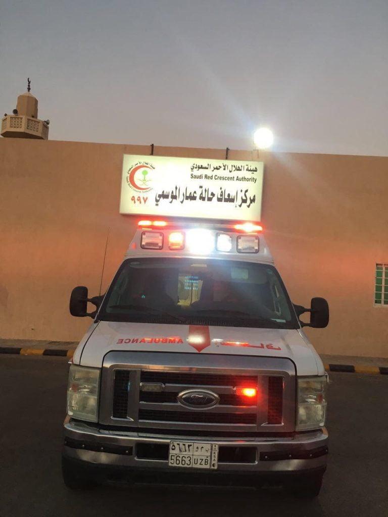 هلال تبوك يرفع جاهزيته للحج بتكثيف الفرق الطبية لخدمة ضيوف الرحمن