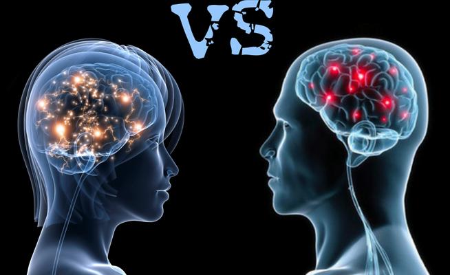 دراسة: دماغ المرأة أكثر اضطرابا من الرجل !