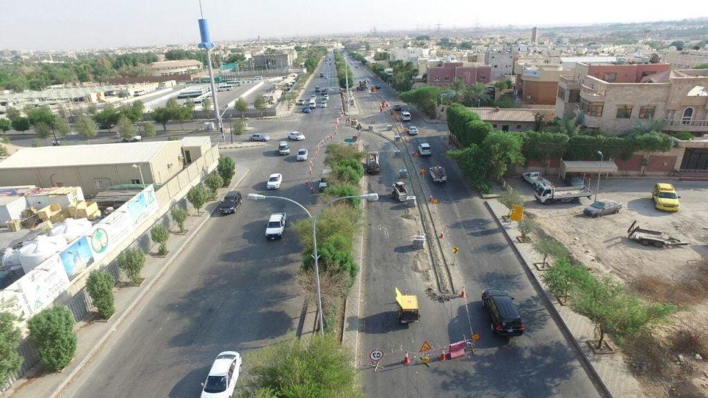 أمانة الرياض تنفذ أعمال تحسين ومعالجة لـ(7) مواقع حرجة مروريًا
