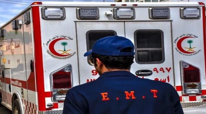 مصرع وإصابة «12» شخصاً في حادث انقلاب مروع بنجران