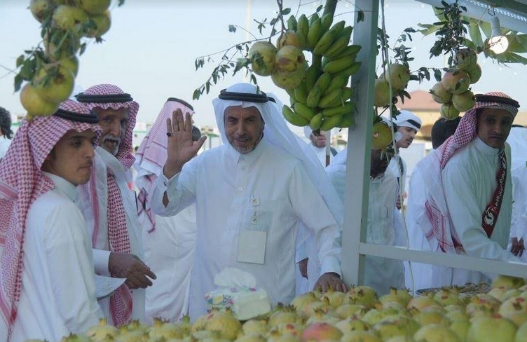 مبيعات مهرجان الرمان في الباحة تتجاوز ثلاث مليون ريال