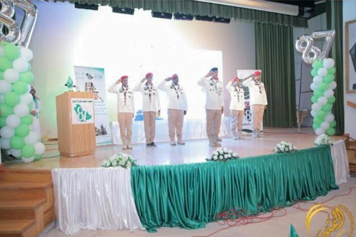 تعليم شرق الرياض يحتفي باليوم الوطني ٨٧ بحضور أبناء الشهداء