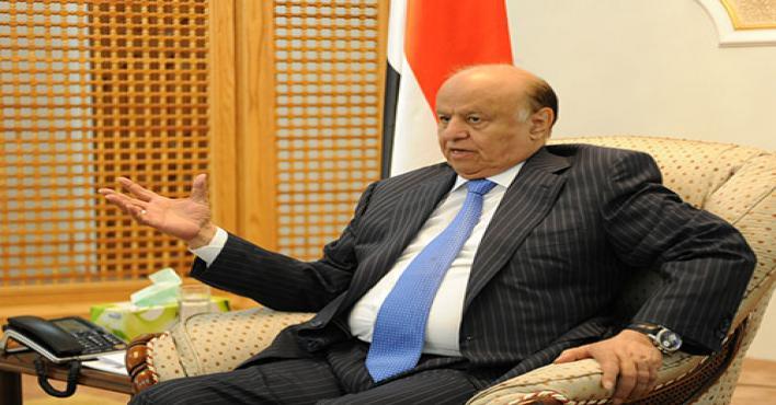 الرئيس اليمني: الانقلابيون يستخدمون كأدوات مشبوهة ويستعدون دول الجوار