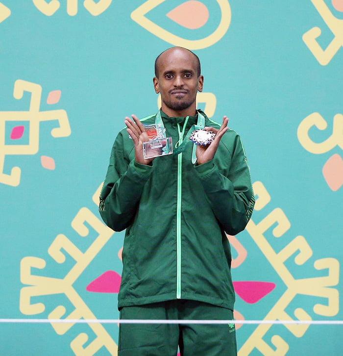 الألعاب الآسيوية.. العداء السعودي محمد شاوين يحقق فضية سباق 1500م