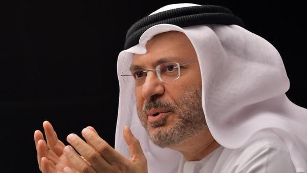 قرقاش: يشدد على أهمية مشاركة دول الخليج العربي في مفاوضات النووي الإيراني