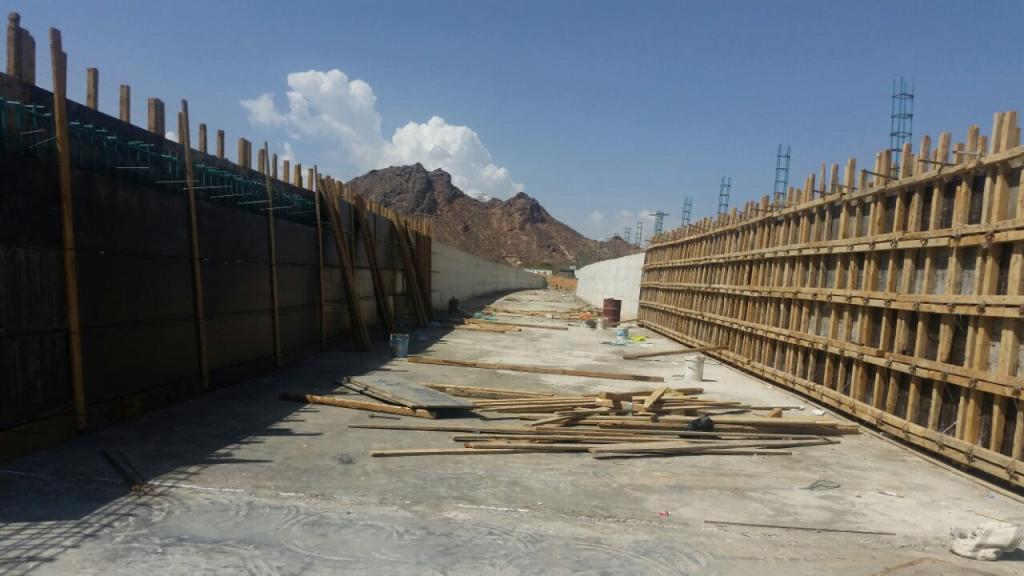 بتكلفة إجمالية تقدر بأكثر من 27 مليون … انجاز 62% من مشروع درء أخطار السيول بشرفة نجران