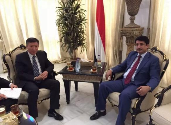 الصين تشدد على أمن واستقرار اليمن ووحدته وسلامة أراضيه