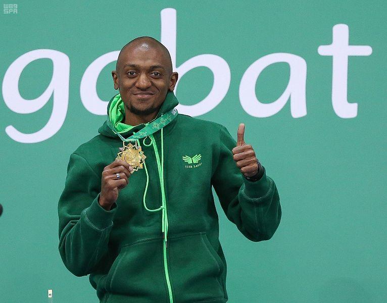 العداء السعودي أحمد خضر يحقق أول ذهبية سعودية في دورة الألعاب الآسيوية
