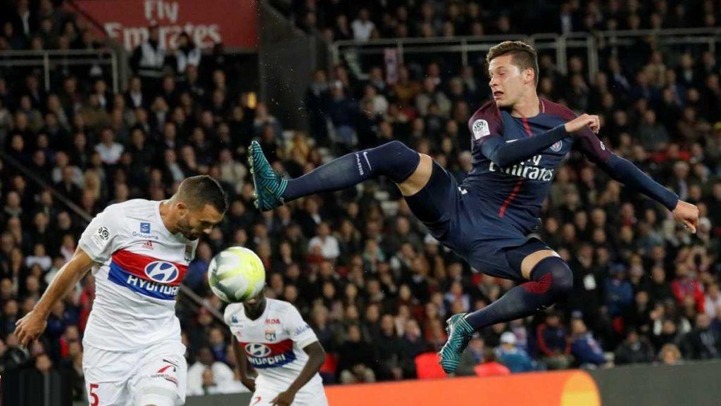 نيران ليون الصديقة تهدي باريس سان جرمان فوزه السادس منذ انطلاق الموسم